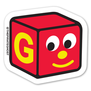 BLOCKHEAD G sticker
