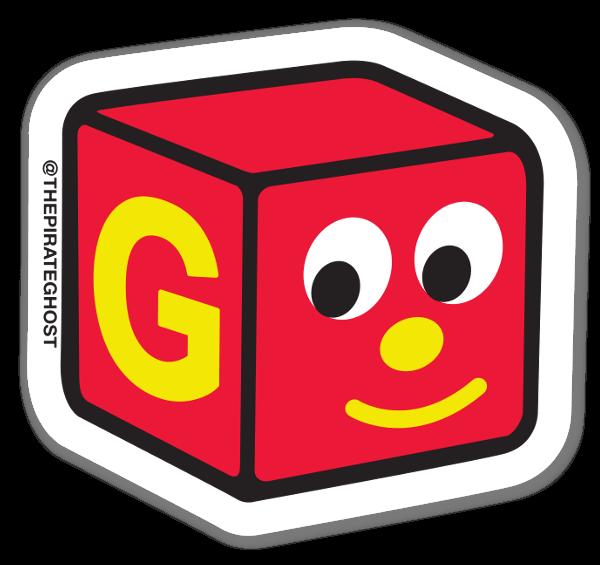 BLOCKHEAD G  sticker