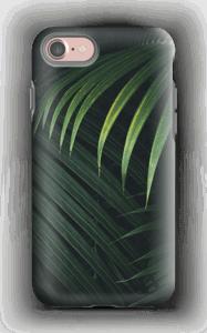Palmblad hoesje IPhone 7 tough
