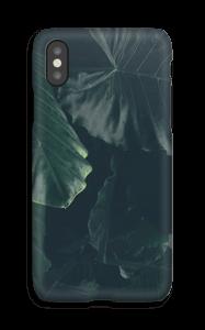 Tropiska växtblad skal IPhone X