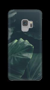 Jungle groen hoesje Galaxy S9