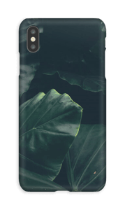 Jungle groen hoesje IPhone XS Max