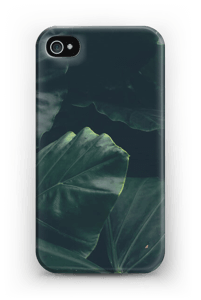 Jungle groen hoesje IPhone 4/4s
