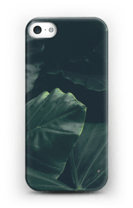 Jungle groen hoesje IPhone SE