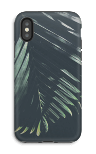 Zonnige palm hoesje IPhone X tough