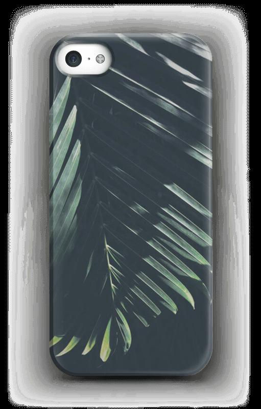 Aurinkoiset palmunlehdet kuoret IPhone 5/5S