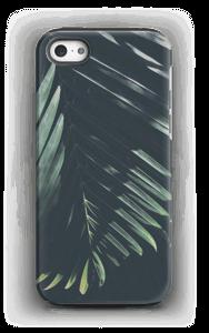 Aurinkoiset palmunlehdet kuoret IPhone 5/5s tough