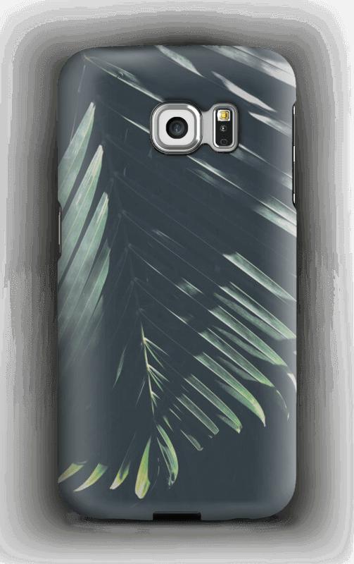 Aurinkoiset palmunlehdet kuoret Galaxy S6 Edge