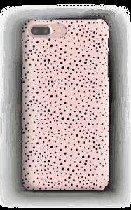 Points noirs sur Rose Coque  IPhone 7 Plus