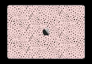 """Points noirs sur Rose Skin MacBook Pro 15"""" 2016-"""