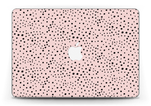 "Black dots on pink! Skin MacBook Pro Retina 13"" 2015"