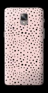 Points noirs sur Rose Skin OnePlus 3