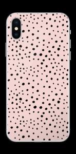Punti rosa Skin IPhone X