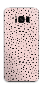 Points noirs sur Rose Skin Galaxy S8