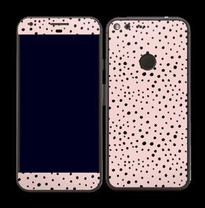 Points noirs sur Rose Skin Pixel XL