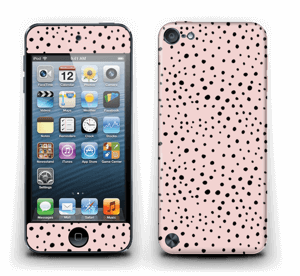 Points noirs sur Rose Skin IPod Touch 5th Gen