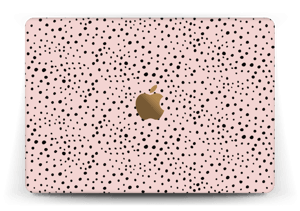 Pink with dots Skin MacBook 12""