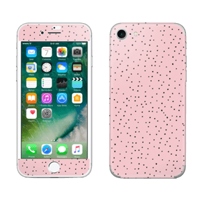 Small dots on pink! Skin IPhone 7