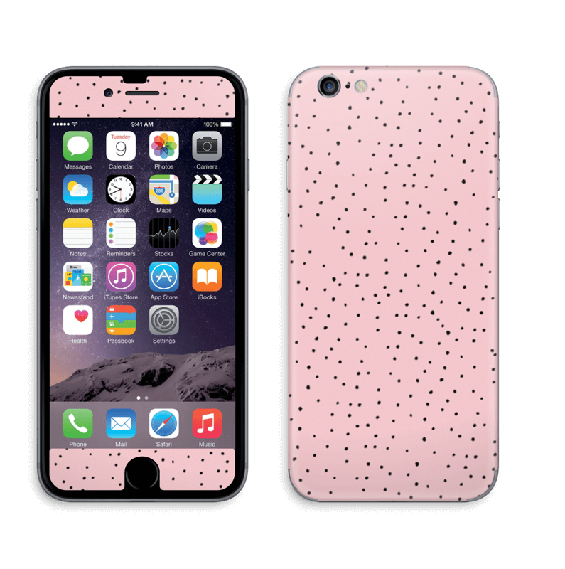 new product 63773 c3fa5 Small dots on pink! - iPhone 6/6s skin