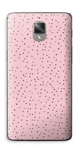 Small dots on pink! Skin OnePlus 3