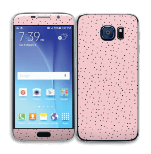 Small dots on pink! Skin Galaxy S6