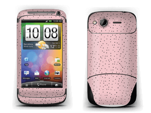 Small dots on pink! Skin Desire