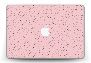 """Small dots on pink! Skin MacBook Pro 13"""" -2015"""