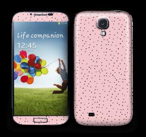 Mini dots on pink! Skin Galaxy S4