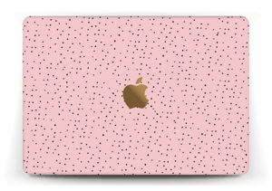 """Small dots on pink! Skin MacBook 12"""""""