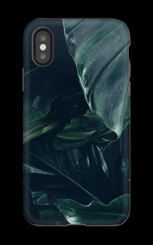 Sademetsä kuoret IPhone X tough