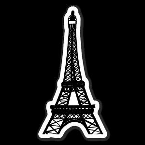 Eiffeltornet sticker
