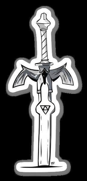 Espada Maestra pegatina