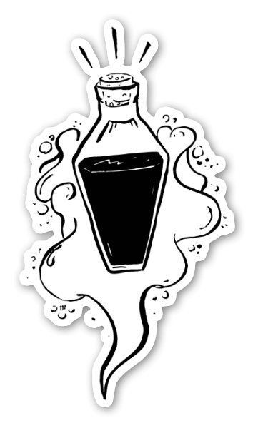 Mystical Potion Sticker