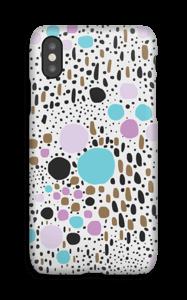 Konfetti kekkerit kuoret IPhone X