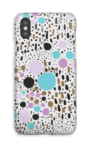 Confetti hoesje IPhone XS