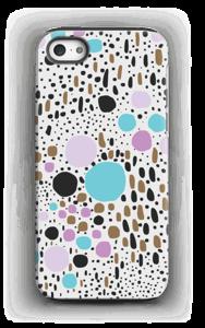 Konfetti kekkerit kuoret IPhone 5/5s tough