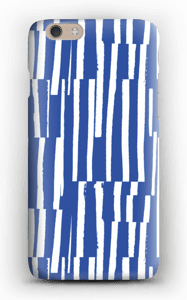Sinivalkoiset raidat kuoret IPhone 6