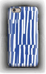 Sinivalkoiset raidat kuoret IPhone 6s tough
