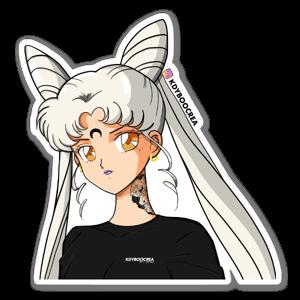 Lady Grey sticker