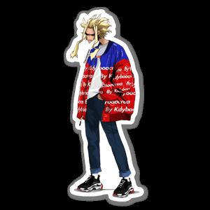 All M. sticker