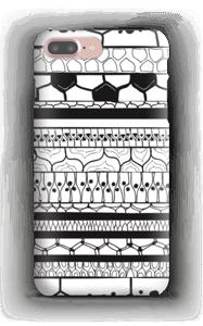 Black stripes case IPhone 7 Plus