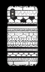 Motifs noir & blanc Coque  IPhone X