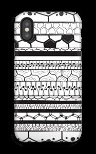 Sorte striber cover IPhone X tough
