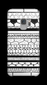 Zwartgerand hoesje Galaxy S9