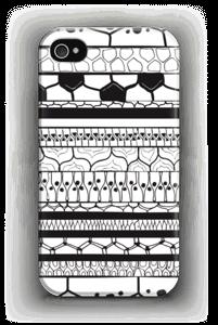 Mustat raidat kuoret IPhone 4/4s