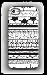 Sorte striber cover IPhone 5/5s tough