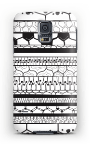 Black stripes case Galaxy S5