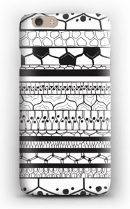 Sorte striber cover IPhone 6