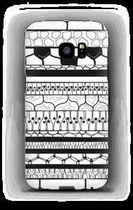 Black stripes case Galaxy S7 Edge