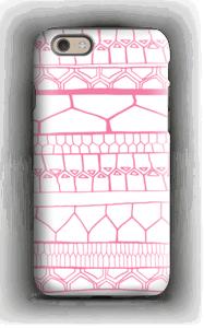 Pink stripes case IPhone 6s tough
